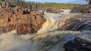 An Evening at Thunderhouse Falls on the Missinaibi River