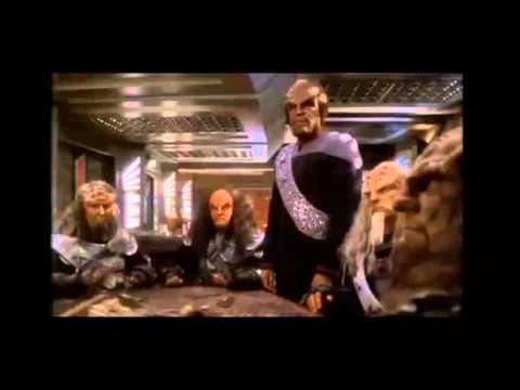 Star Trek DS9 Worf Kills Gowron