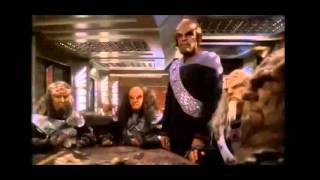 Star Trek DS9 Worf Kills Gowron