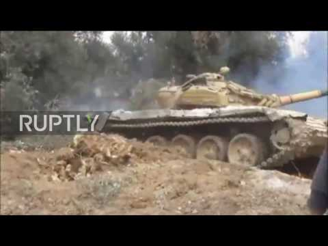 Syria: SAA continues offensive in E. Damascus suburb of al-Qaboun