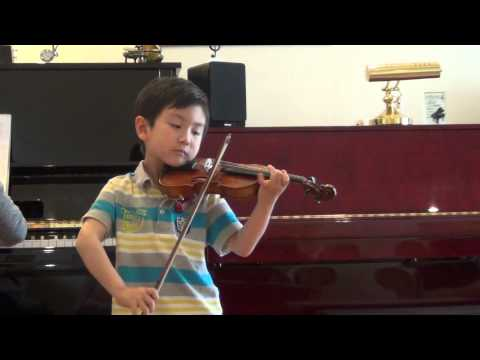 Violin [Turkish March Mozart] - Christian Li (6ys)