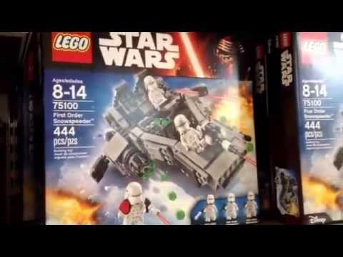 Force Friday Star Wars The Force Awakens Lego Sets 2015 Downtown ...