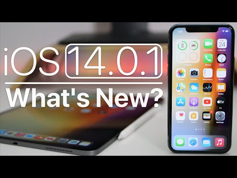 IOS 14.0.1 Is Out! - What's New?