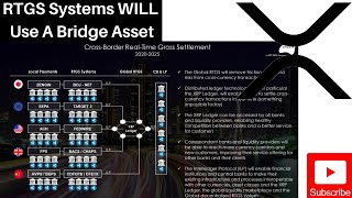 Ripple/XRP News: MUST WATCH | RTGS Systems WILL Use A Bridge Asset | Level Playing Field