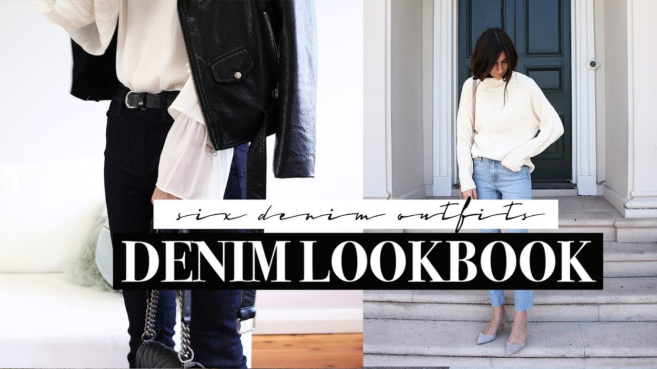 [VIDEO] - Denim Lookbook - Six Styles & Six Outfits from Day to Night | Mademoiselle 6