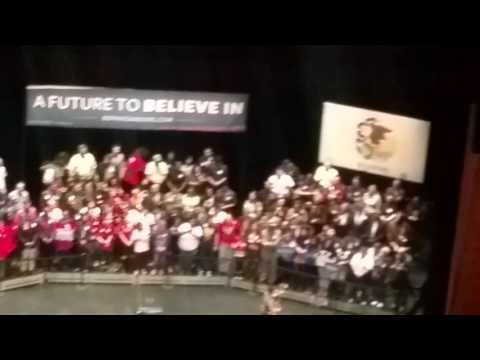 Bernie sanders rally chicago w/ jewel