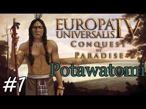 Let's Play: EU4 Conquest of Paradise - Potawatomi episode 1