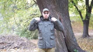 "Видео обзор куртки-парки британской, цвет olive от ""Chameleon""."