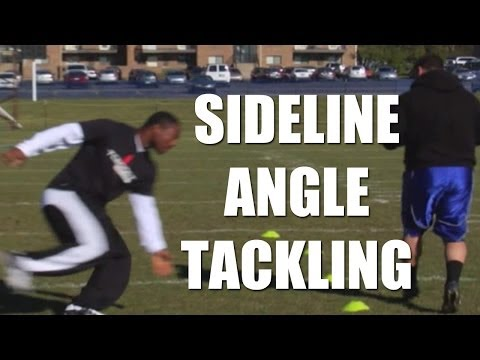 Football Tips: Sideline angle tackling with Nick Roach