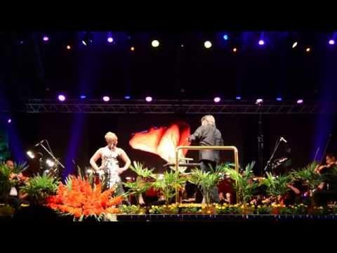 Elina Garanca  live at Ohrid Summer Festival gala opening 2016 (conductor Ion Marin)