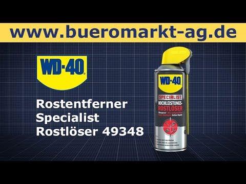 Rostentferner Wd 40 Specialist Rostloser 49348 Youtube