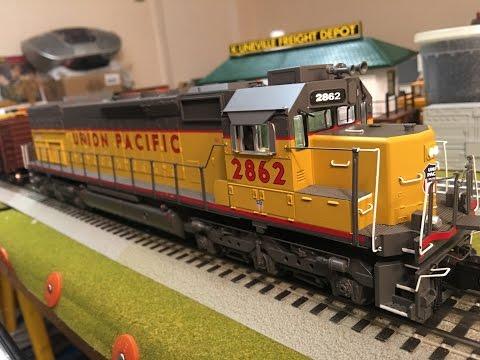 MTH Premier Union Pacific SD40T-2 Tunnel Motor Protosound 3.0  Demo