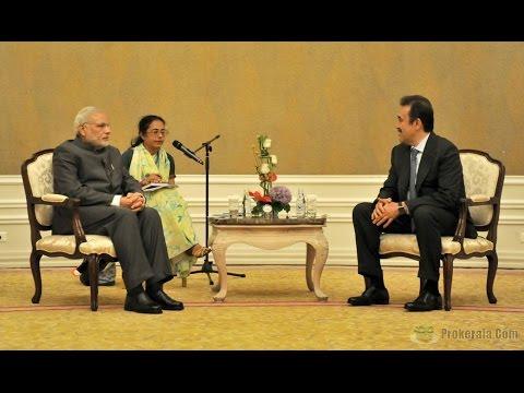 Narendra Modi meets Kazakhstan President Karim Massimov