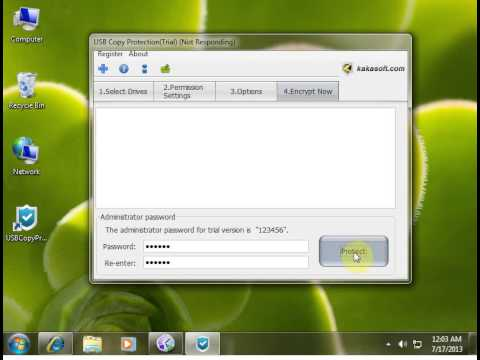 USB Copy Protection: Copy Protect Data On USB Drive