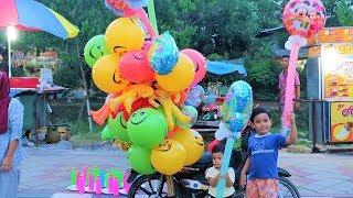 Bocah Imut Beli Balon Unik & Lucu, Baru Liat Bentuk Balon Kayak Gini Soalnya