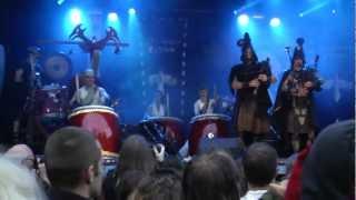 corvus corax + Wadokyo, Castlefest 2012, Video 1