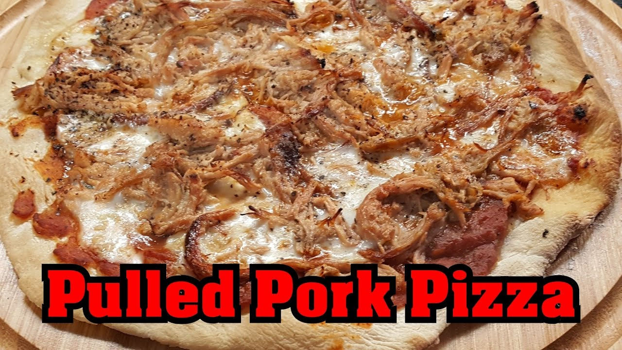 Cobb Gasgrill Pulled Pork : Pulled pork pizza aus dem sunset bbq tortuga zu meiner