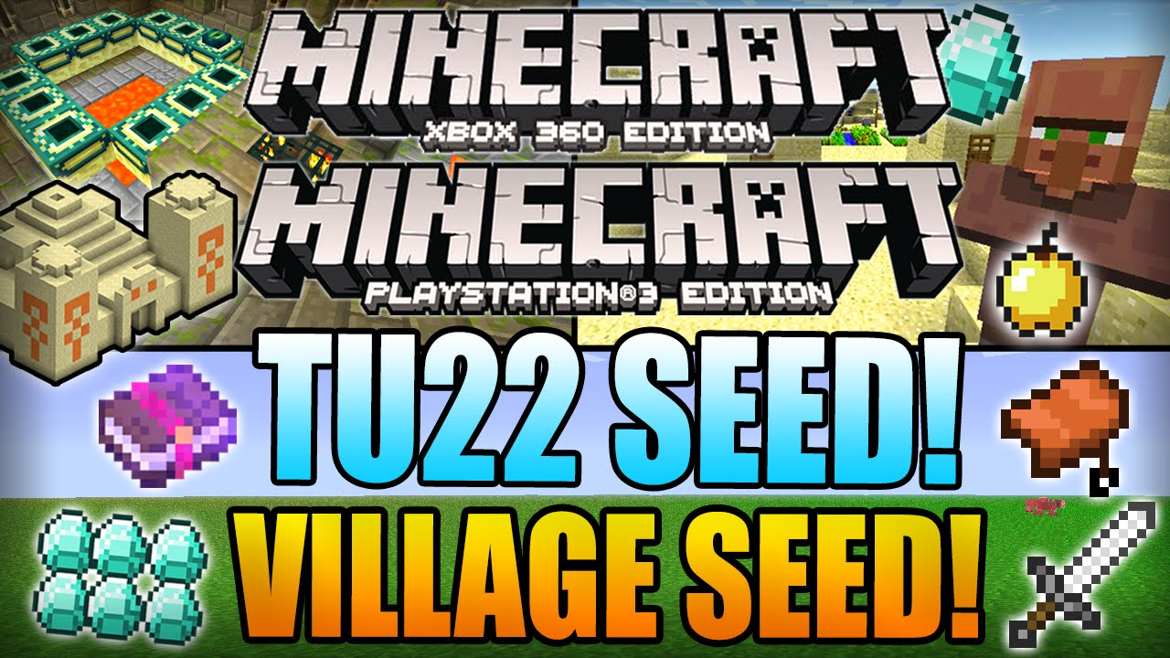 Minecraft: Xbox 360 Edition - 9 VILLAGE SEED! (Seed ...