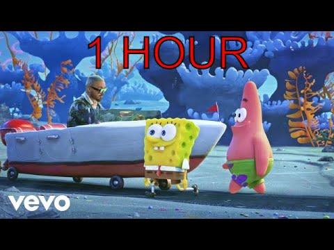 """[1 HOUR] Tainy, J Balvin – Agua (Music From """"Sponge On The Run"""" Movie)"""