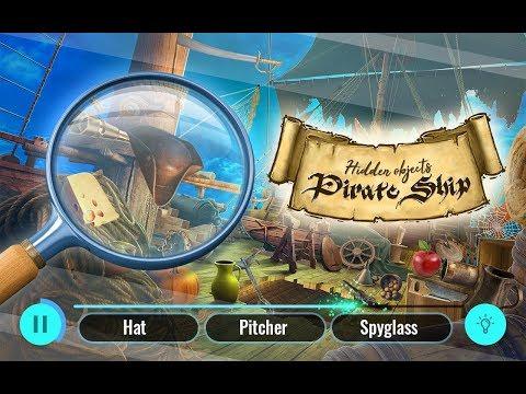 pirate ship hidden objects treasure island escape hack