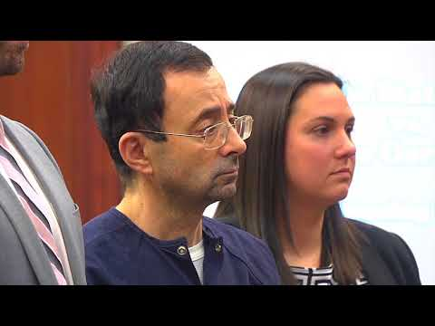 Judge reveals Nassar's letter denying sexual abuse, defending himself as a 'good doctor'