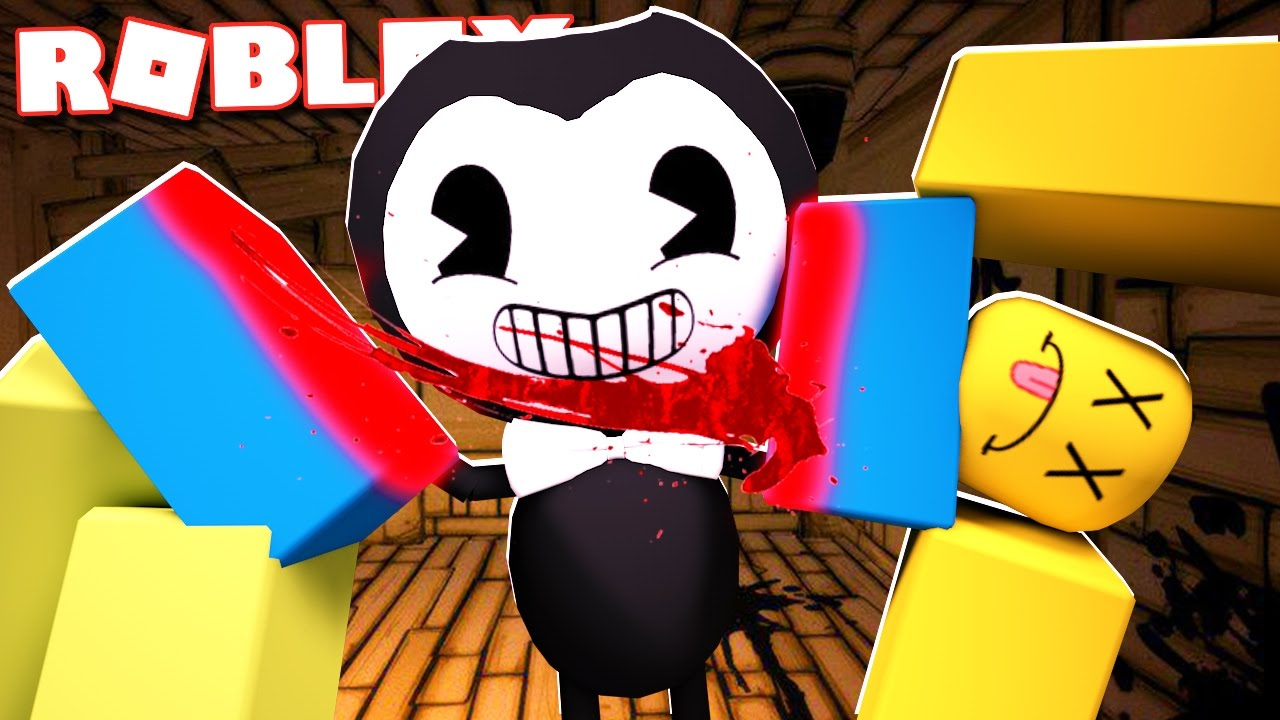 Roblox Shirt Bendy Can You Survive Bendy In Roblox Youtube