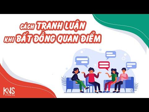 Kỹ Năng Sống VTV3 - Học cách tranh luận