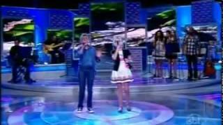 Jotta A. e Michely Manuely Cantando Hallelujah no Programa Raul Gil