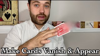 MAKE CARDS VANISH AND APPEAR WITH MAGIC// Stess-Show vol19// Learn The Tenkai Palm Easy Magic Trick