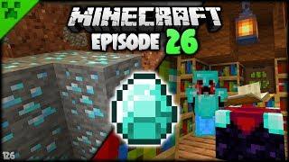 DIAMOND MANIA & SCARY Mineshaft! | Python's World (Minecraft Survival Let's Play S2) | Episode 26