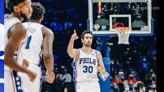 Furkan Korkmaz'dan Brooklyn Nets'e karşı harika maç!🔥| 27 SAYI | 11.10.2021