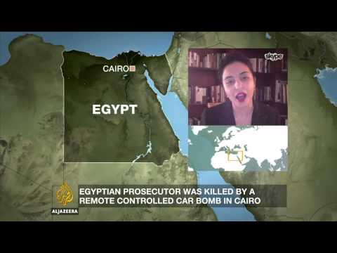 Egypt in 'a state of war'?