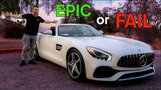 2018 Mercedes AMG GT Roadster Review - Epic or FAIL?