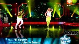 Merengue House: Belén Estevez y Waldir Felipa (El Gran Show: Reyes del Show 19-11-2011)