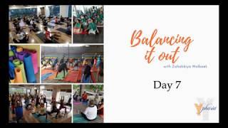 Balancing it out - Day 7 - Recap