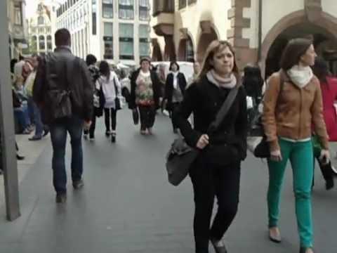 Walking tour Leipzig, Germany