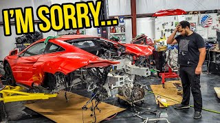 I Didn't Want To Make This Video... (BIG PROBLEM With My Mclaren 675LT I CAN'T FIX)