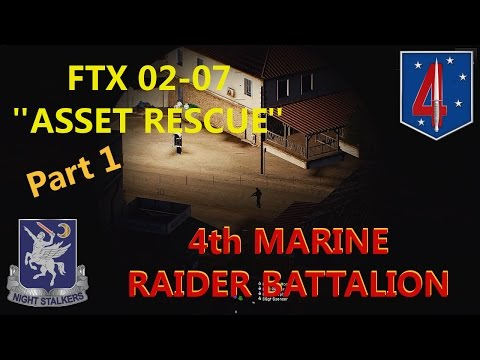 "4th Marine Raider Battalion, FTX 0217, ""Asset Rescue"" Pt 1"