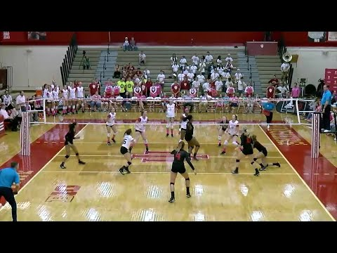 Rutgers at Indiana - Women's Volleyball Highlights