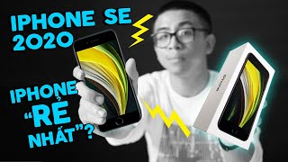 """Đây là iPhone """"GIÁ RẺ"""" ? (Trên tay iPhone SE 2020)"""