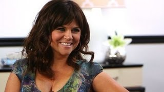 Tiffani Thiessen Shares Top Party Planning Tips and Talks White Collar's Cliff-Hanger