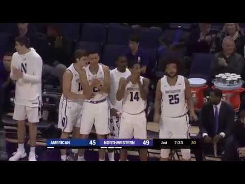 Highlights: American At Northwestern | Big Ten Basketball