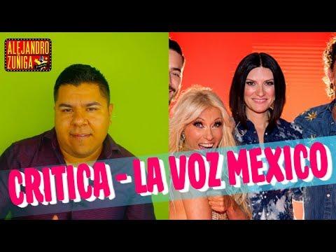 """MI CRITICA PARA """"LA VOZ MÉXICO"""""""