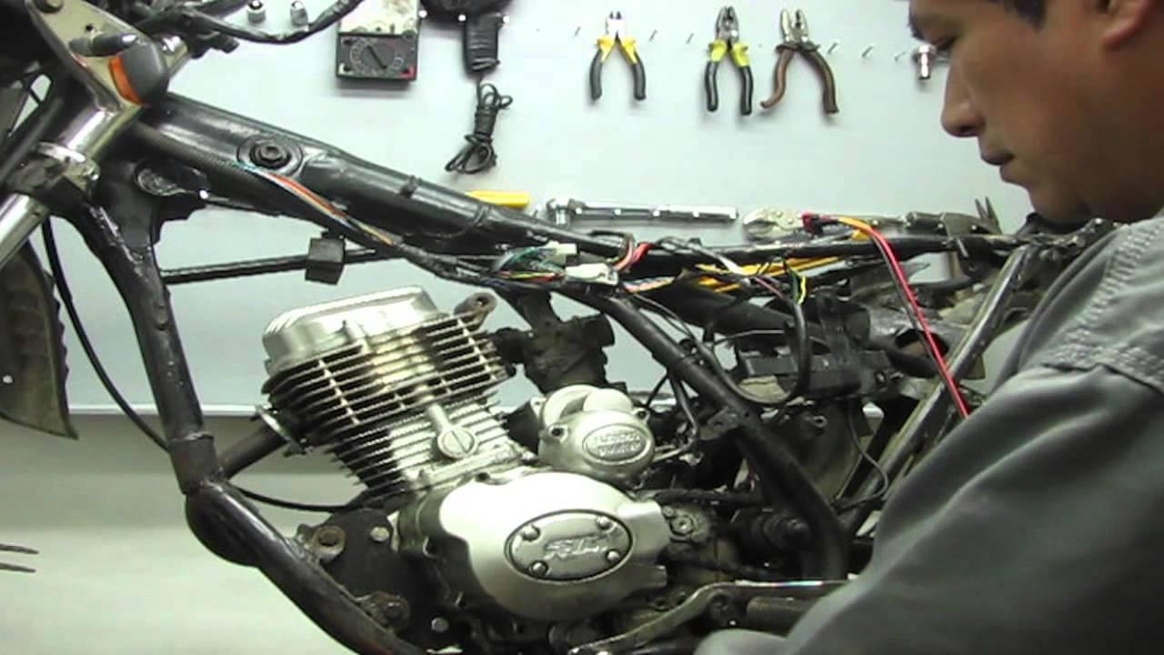 Sistema Electrico De Moto Lineal