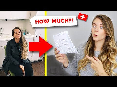 Switzerland | How Much I Paid For Healthcare | Swiss Healthcare System