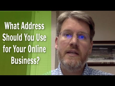 Starting An LLC? What Address Should You Use For Your Online Business? (See UPDATE For More Info)