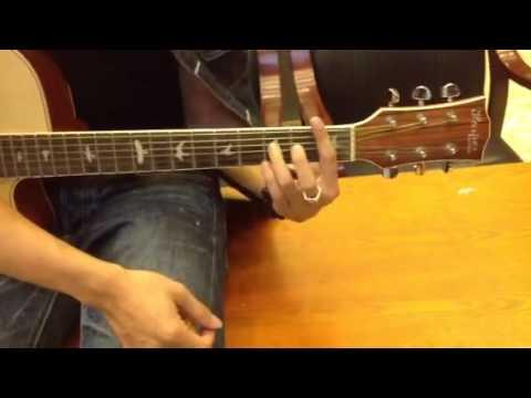 Cách nắm hợp âm chặn trưen Guitar
