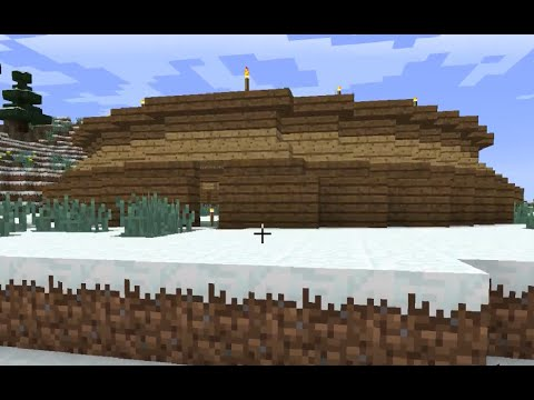 Minecraft - North Pole Ep. 4 - Snow Globe Farm