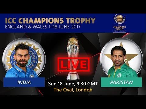 INDIA VS PAKISTAN FINAL LIVE SCORE, Commentary | ICC Champions trophy 2017