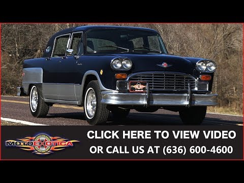 1982 Checker Luxury || SOLD